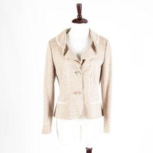 BASLER Selection –Pink Ruffle Blazer Jacket – 40
